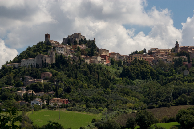 Hilltop towns in Romagna