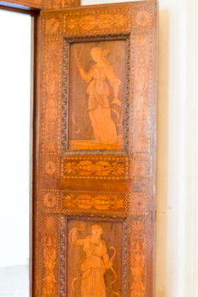 Wood inlay in the Palazzo Ducale