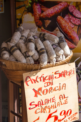 Salami from Norcia