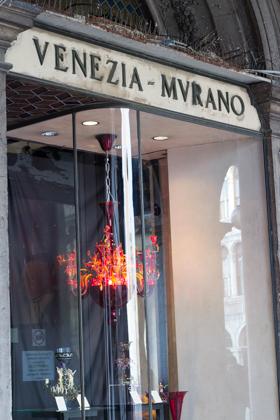 Murano's world-famous glass