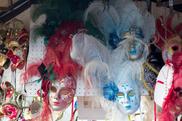 Make Venetian masks next time?