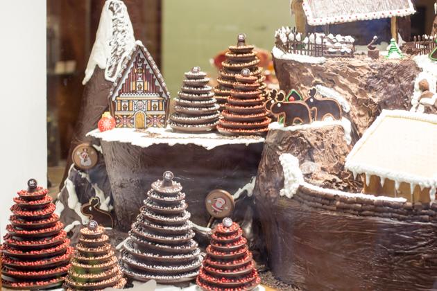 Their Christmas display