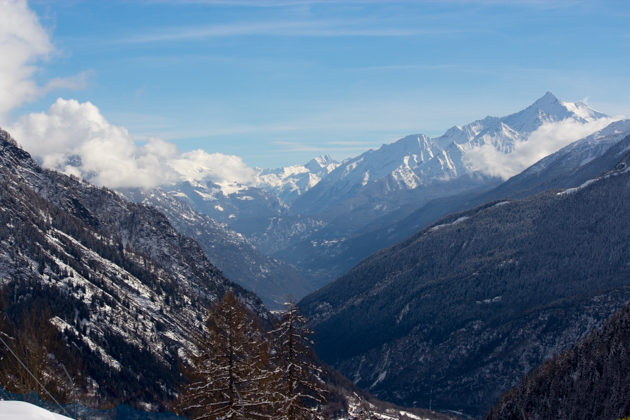 View from Courmayeur