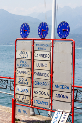 Ferries can take you all over Lago Maggiore