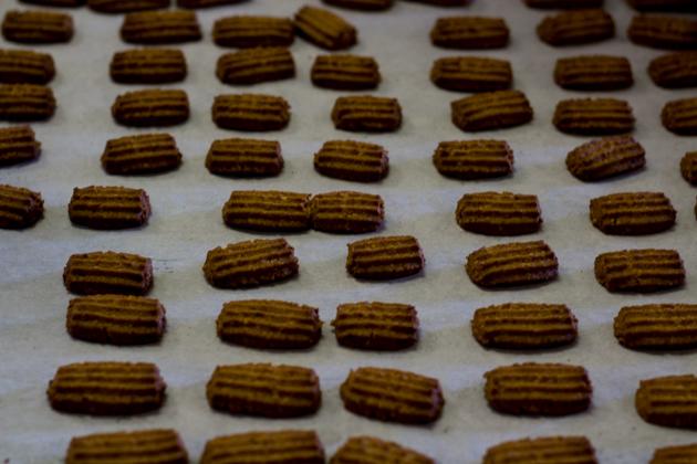 Biscotti di nocciole (hazelnut biscuits)