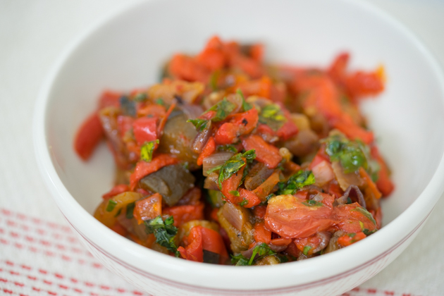 Ciambotta (summer vegetable stew)