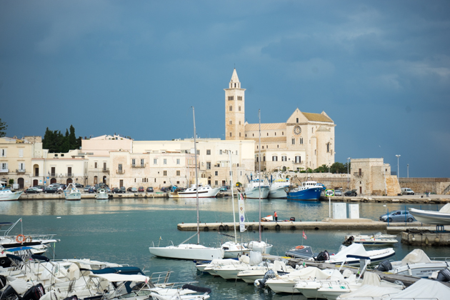 The port in Trani