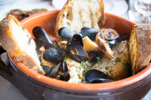 Zuppa di pesce (seafood soup)