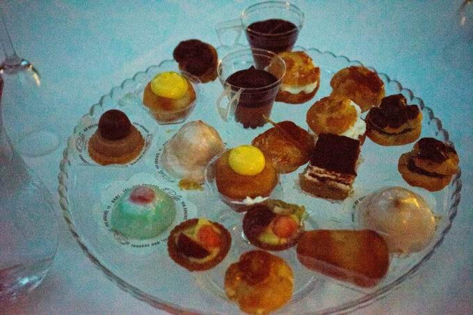 A tiny sample of our extraordinary dessert
