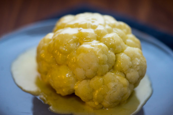 Cavolfiore al Castelmagno (cauliflower cheese) – Piemonte