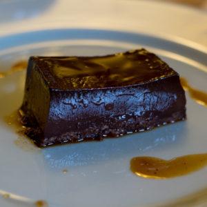 Bunèt: Piedmontese chocolate amaretti creme caramel
