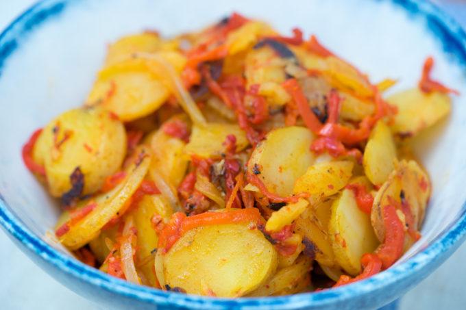 Peperoni e patate / Pipi e patate (peppers and potatoes) – Calabria
