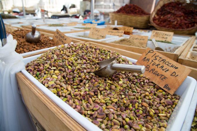 Bronte's famous pistachios
