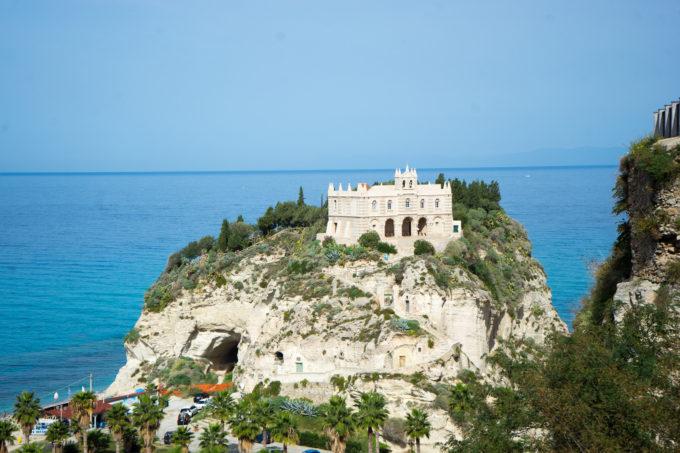 The stunning Calabrian coast