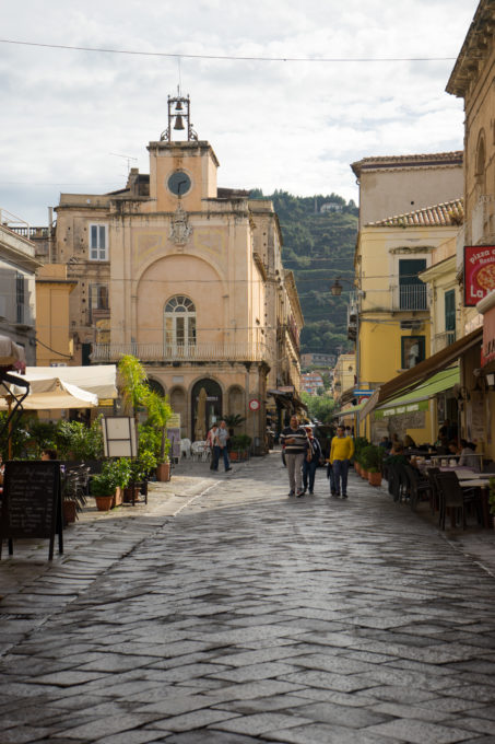 Corso Vittorio Emanuele, the main road in Tropea