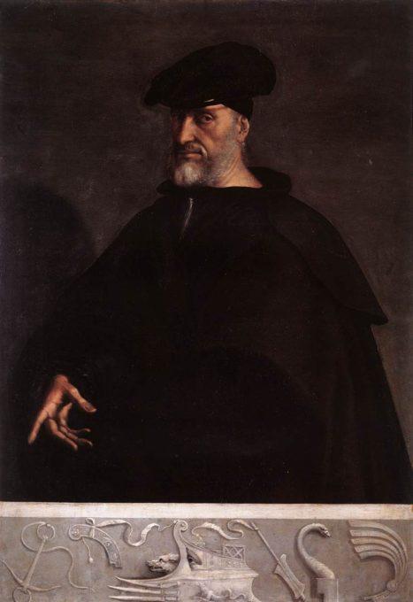 Andrea Doria by Sebastiano del Piombo [Public domain], via Wikimedia Commons