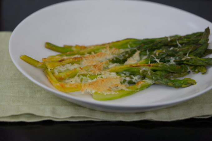 Asparagus with Parmigiano-Reggiano gratin
