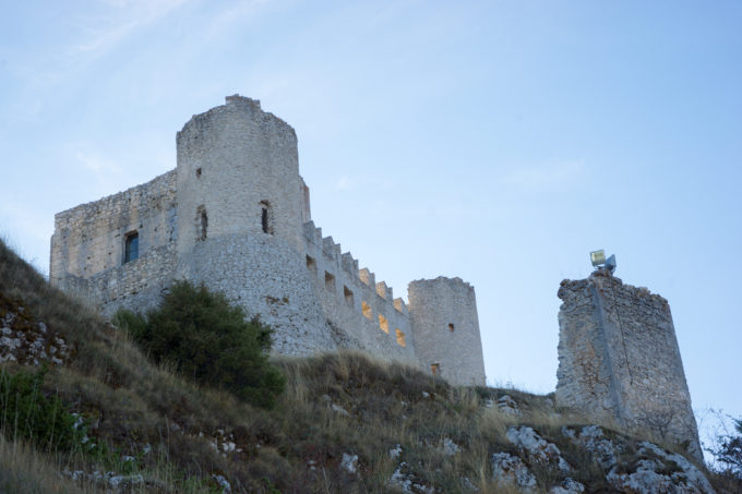 The Rocca di Calascio fortress