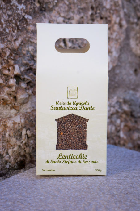 Tiny, delicate lentils from Santo Stefano di Sessiano