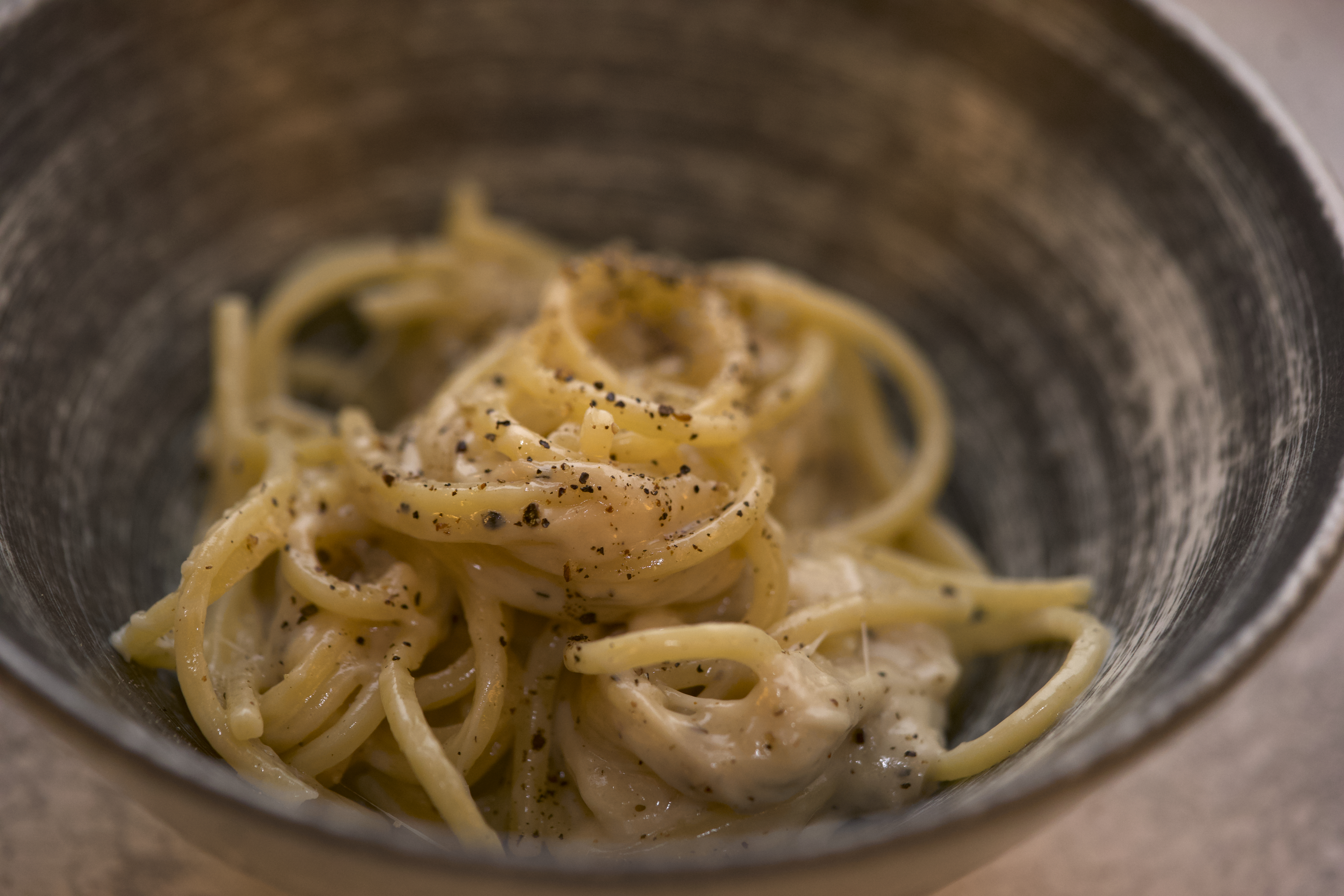 Quest for the foolproof cacio e pepe recipe