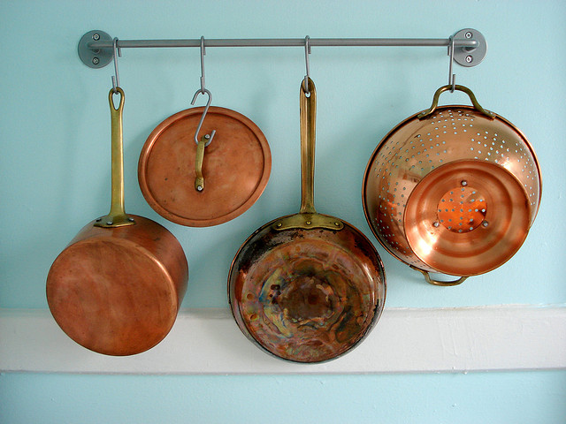 Pots and pans by Jocelyn Durston