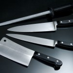 Cooking knives by Nick Wheeler
