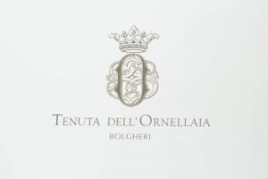 Ornellaia label