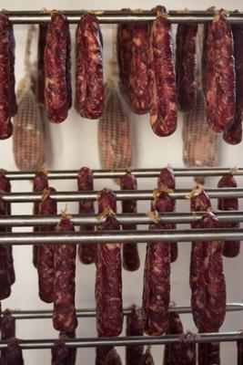 Sa Mandra's homemade sausages