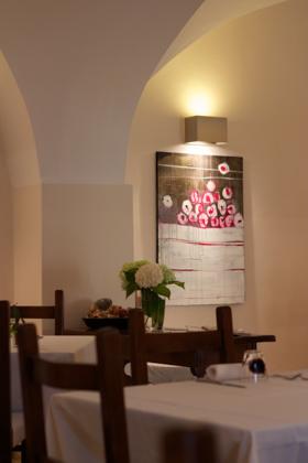 Dining room of La Viola