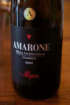Amarone della Valpolicella Classico 2009, Allegrini