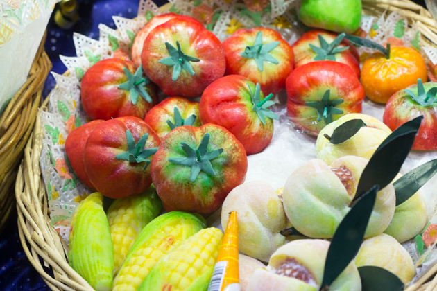 Frutta martorana (marzipan fruits)