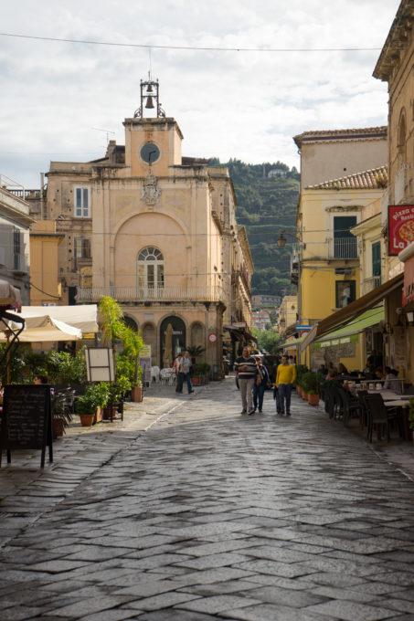 Corso Vittorio Emanuele, the main road in Tropea