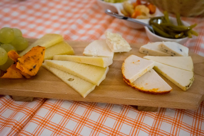 Homemade cheeses